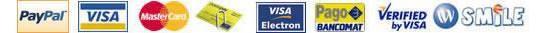 Carte di credito e modalità di pagamento accettate