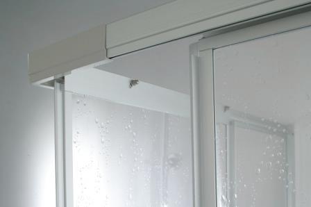 duschabtrennung duschkabine acrylglas plexiglas 2 schiebet ren dusche h 185 cm. Black Bedroom Furniture Sets. Home Design Ideas