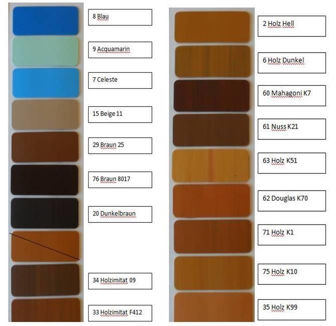rolladenpanzer rolladen nach mass in pvc diversen farben. Black Bedroom Furniture Sets. Home Design Ideas