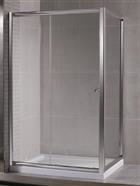 Miscelatori box doccia a libro prezzi in cristallo for Guarnizioni box doccia leroy merlin