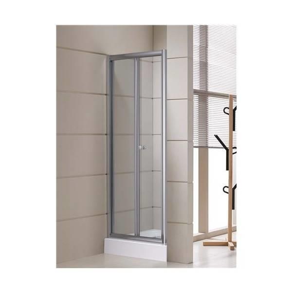 Cabina box doccia cristallo 5 mm porta a libro nicchia - Cabina doccia prezzo ...