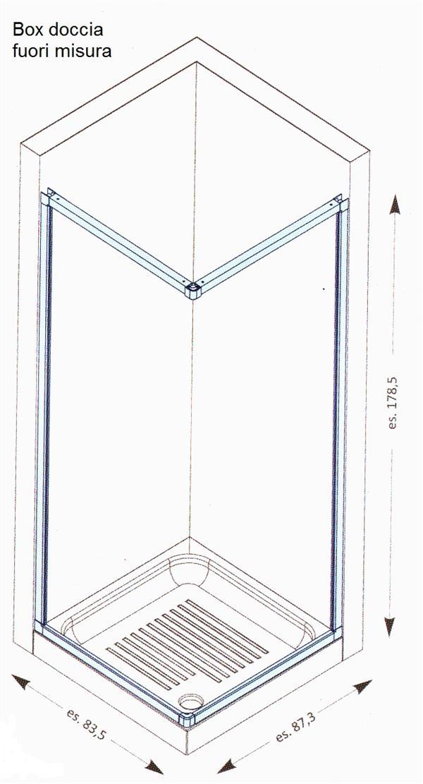 Dimensioni doccia standard termosifoni in ghisa scheda - Piatto doccia piccole dimensioni ...