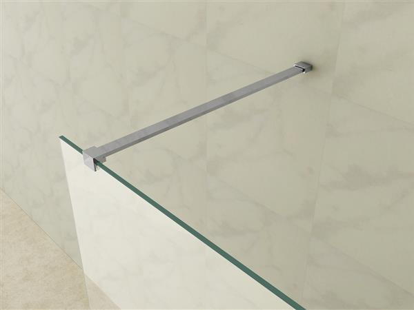 Porta doccia walk in cristallo trasparente 8 mm
