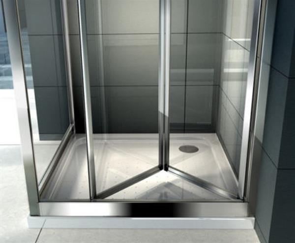 Cabine Doccia Cristallo : Box doccia cristallo 5 mm porta a libro