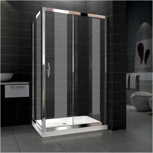 Box doccia cristallo 6 mm sostituzione vasca 70 x 170 cm - Vetro doccia scorrevole ...
